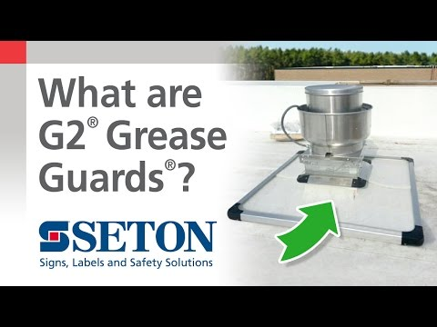 How to Protect Against Rooftop Damage With G2® Grease Guards® | Seton Video