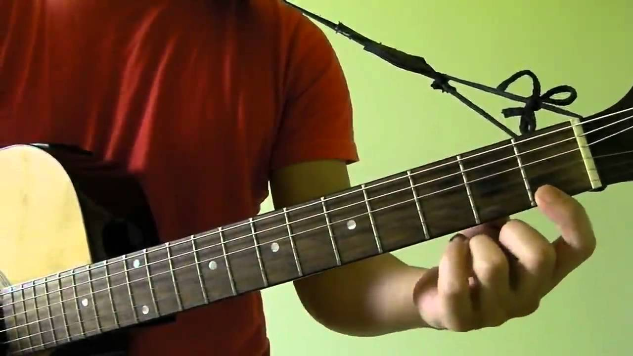 Hallelujah – Jeff Buckley (original by Leonard Cohen) – Easy Guitar Tutorial (No Capo)