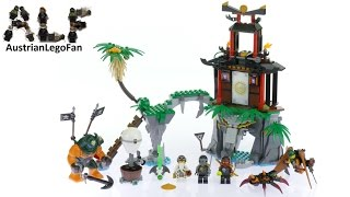 Lego Ninjago 70604 Tiger Widow Island - Lego Speed Build Review
