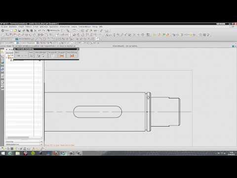 CAD Klausur 2013 – RWTH Achen – Wellen-Zeichnung