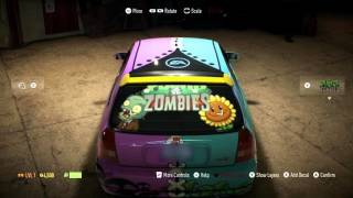 Plants vs. Zombies Garden Warfare 2: Need For Speed Custom Car Time Lapse