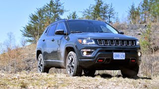www.autoTRADER.ca test drive of the all-new 2017 Jeep Compass Trailhawk, presented by Justin Pritchard