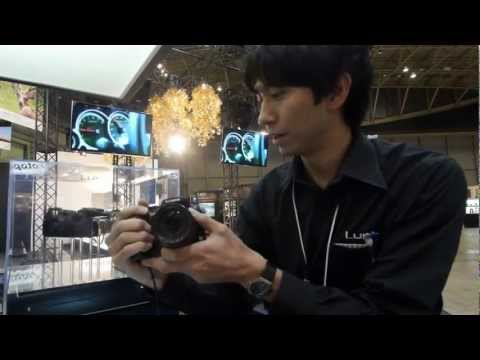 Panasonic Interview from CP+ 2013