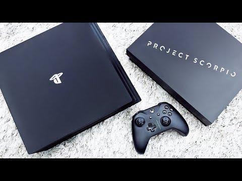 Xbox One X vs PS4 Pro (Обзор)