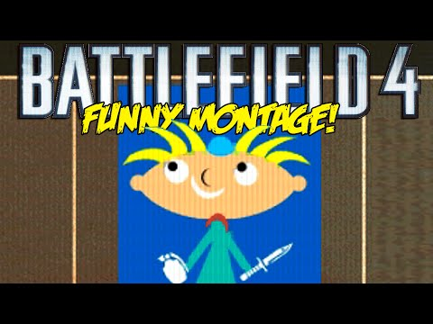 Battlefield 4 Funny Montage!  Hey Arnold Kill , Superman Glitch , Dancing Pole (BF4 Funny Moments)