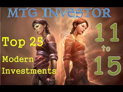 Top 25 Modern Investments – Cards 11-15