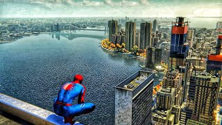 Spider-Man PS4 - Danny Elfman Soundtrack Webswinging ❤️💙❤️