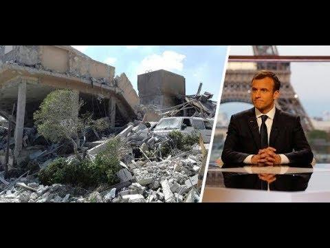 """Syrien-Konflikt: """"Wir mussten Trump zu den Angriffe ..."""