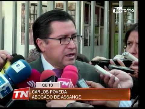 Defensa de Assange presentará denuncia contra gobierno ecuatoriano