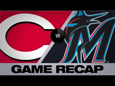Video: Ramirez walks it off with HR in the 12th | Reds-Marlins Game Highlights 8/29/19