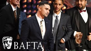 The cast and crew of People Just Do Nothing pick up the award for Scripted Comedy at the BAFTA TV Awards 2017.subscribe to BAFTA ⏩ https://youtube.com/user/BAFTAonlinecheck out BAFTA Guru ⏩ https://youtube.com/user/BAFTAGuru⏬  stay up to date ⏬ Twitter: @BAFTA: https://twitter.com/BAFTA @BAFTAGuru: https://twitter.com/BAFTAGuru @BAFTAGames: https://twitter.com/BAFTAGames Facebook: https://www.facebook.com/baftaInstagram: http://instagram.com/baftasign up for our newsletter: http://guru.bafta.org/newsletter subscribe to our podcasts:iTunes: http://bit.ly/Vz84HI Soundcloud: https://soundcloud.com/baftavisit our websites to find out more:http://www.bafta.org/guruhttp://www.bafta.org