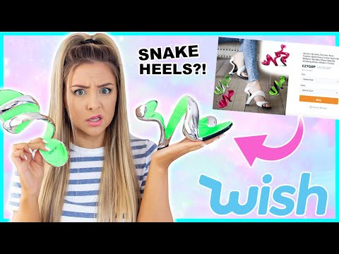 I Spent бё200 On The Strangest Fashion Items From Wish, Ebay And Shein ! Success Or Disaster !