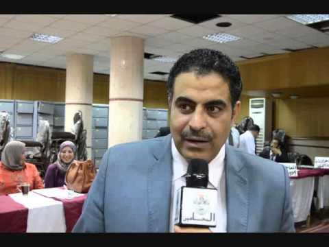 مصطفى عمر يتقدم باوراق ترشيحة على مقعد نقيب المحامين