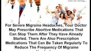 Pain | Migraine Headaches: Causes, Treatment And Prevention