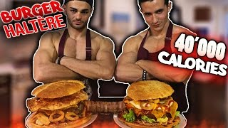 Video BURGER HALTÈRE 40'000 calories ! (ft Fastgoodcuisine) MP3, 3GP, MP4, WEBM, AVI, FLV November 2017