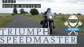 8. Triumph Speedmaster - Sportowy Cruiser Video Test Ride & Review - motobanda.pl [tv motocyklowa]