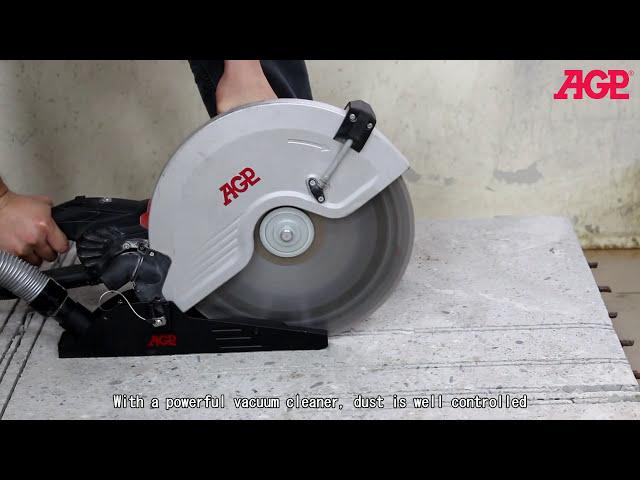 AGP C14, C16 Concrete Saw - Introduction & Operation
