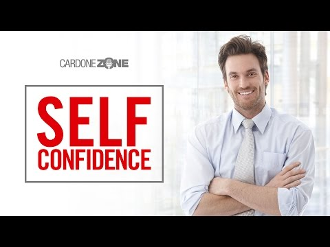 how to develop a self confidence