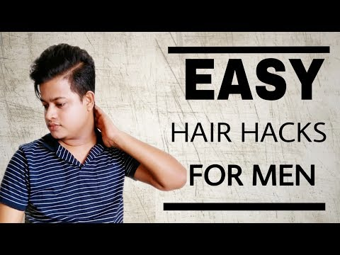 Mens hairstyles - Quick and Easy Hairstyle For Men  Men's Hairstyle Tutorial