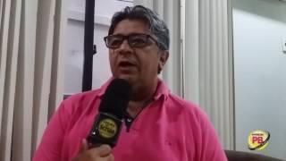 Presidente da Câmara, Aldeone Abrantes fala das sessões itinerantes em Sousa
