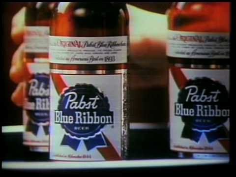 Pabst Blue Ribbon Beer Commercial