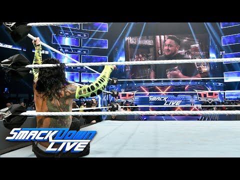 Jeff Hardy vs. Randy Orton: SmackDown LIVE, Dec. 4, 2018