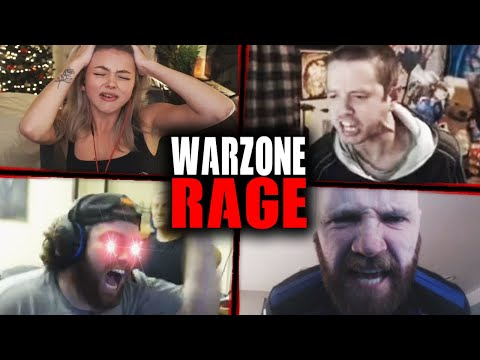 Funniest Warzone RAGE Moments