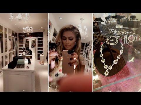 Paris Hilton | My Closet Tour | 2017