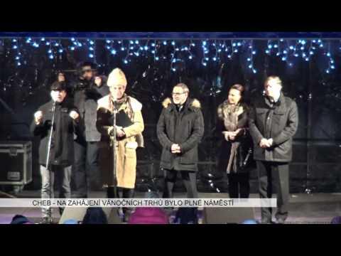 Chebské vánoční trhy 2016 - repo Západ.cz