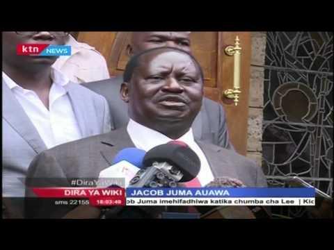Muungano wa CORD wameulaumu serikali kwa mauwaji wa Jacob Juma