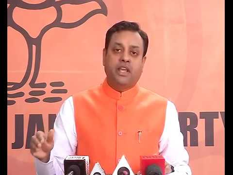 Byte by Dr. Sambit Patra at BJP Central Office, New Delhi : 03.02.2017