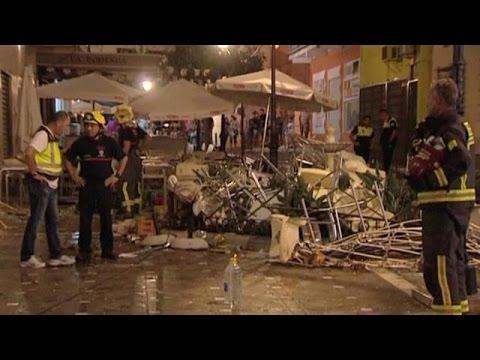 Ισπανία: Δεκάδες τραυματίες από έκρηξη σε καφετέρια