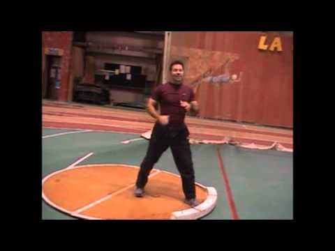 Lancer du poids - Entraînement et technique en athlétisme - Comment lancer