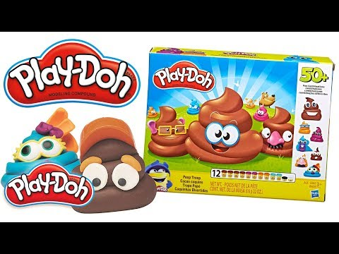 Play doh - 'Poop-Troop' Official Unboxing  Create Funny Poop Characters!  Play-Doh