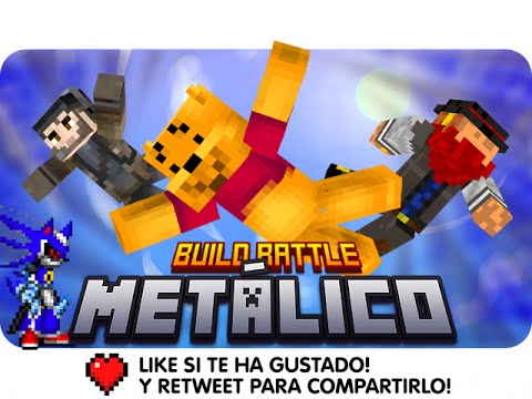 BUILD BATTLE: METÁLICO! | Minecraft – Macu, Gona y Luh