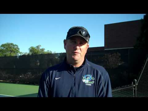 Steve Barsby - Women's Tennis Fall Championships Day 2