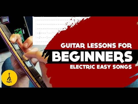 Must Know Electric Guitar Songs + Riffs  | Super Easy Electric Guitar Songs For Beginners