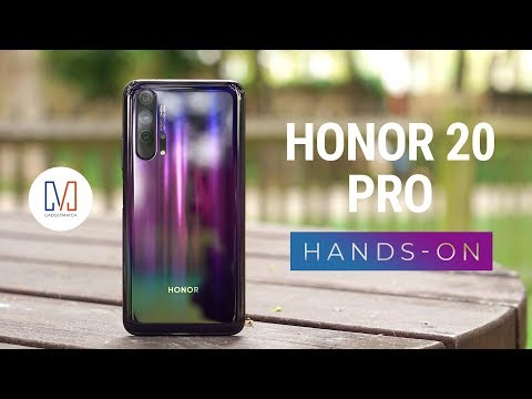 Honor 20 Pro Unboxing And Hands-On