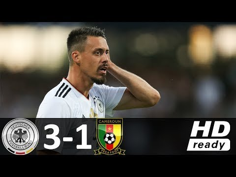 Germany 3 vs 1 Cameroon - RESUMEN Y GOLES COMPLETO Highlights - 25-06-2017 HD
