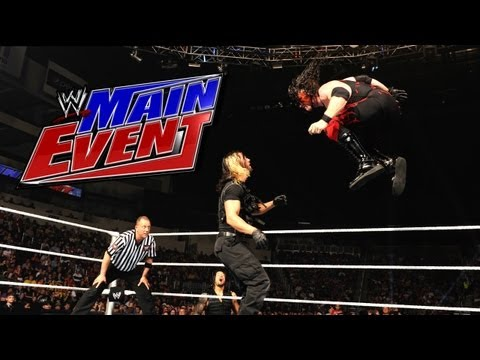 Event - Kane takes on one third of the SHIELD - Seth Rollins, in the opening match of WWE Main Event.