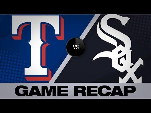 Video: Detwiler, Moncada help White Sox top Rangers | Rangers-White Sox Game Highlights 8/22/19