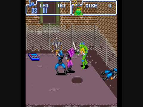 sega genesis - teenage mutant ninja turtles - the hyperstone heist (1992) download