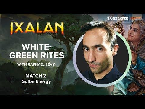 [MTG] White-Green Rites | Match 2 VS Sultai Energy