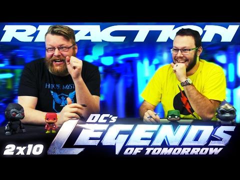 "Legends of Tomorrow 2x10 REACTION!! ""The Legion of Doom"""