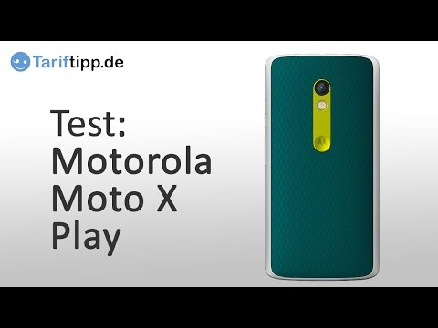 Youtube Video Motorola Moto X Play white
