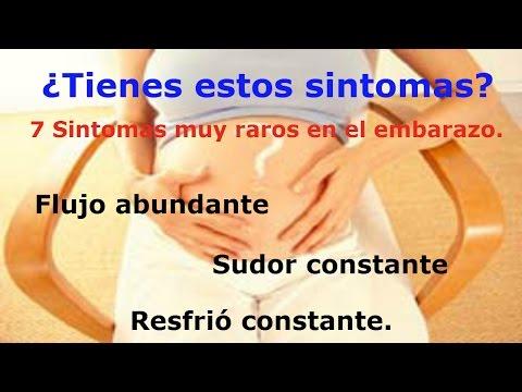Síntomas de embarazo raros o poco comunes