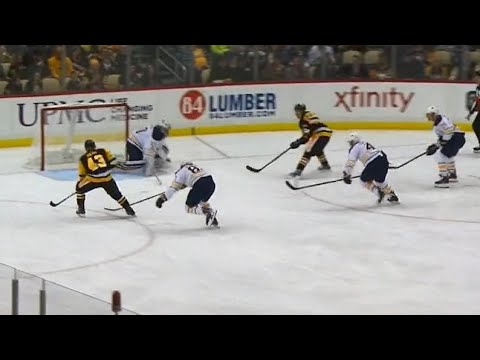 Video: Sheary capitalizes on odd-man rush, brings Pens within one