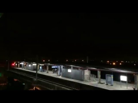 台南高鐵台鐵縮時攝影