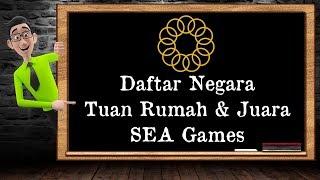 Video Daftar Negara Tuan Rumah SEA Games & Juara Umum MP3, 3GP, MP4, WEBM, AVI, FLV Oktober 2018