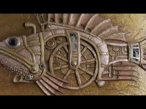 Смотреть / Декоративные покрытия, венецианская штукатурка, барельеф, золочение, роспись / WaterVideo.ru / видео онлайн в хорошем